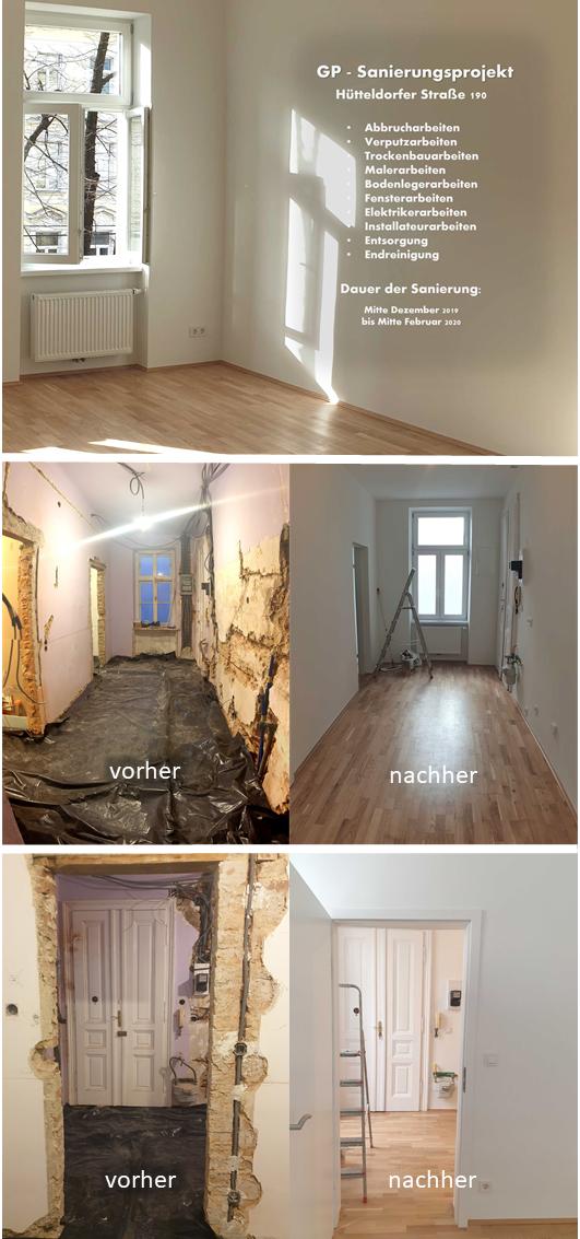 GP Sanierungsprojekt Hütteldorfer Straße