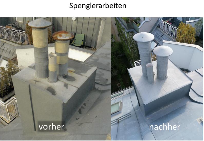 GP Schaden Dachreparaturen Spenglerarbeiten