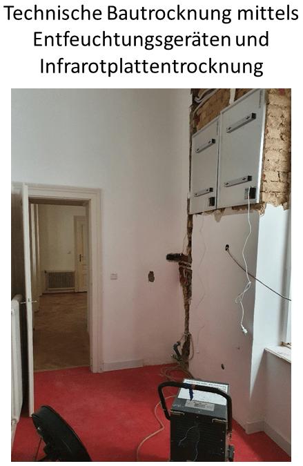 GP Wasserschaden - Technische Bautrocknung